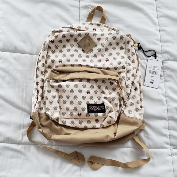 904ed19d80f Jansport Disney Super FX Tan Luxe Minnie Backpack